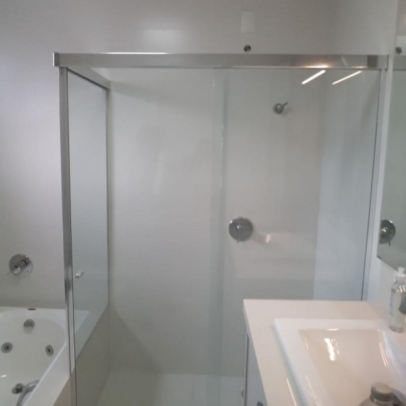 Box de canto com Kit Quadrado